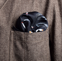 Cigarette Pocket Square