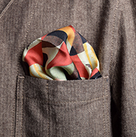 Deco Print Pocket Square