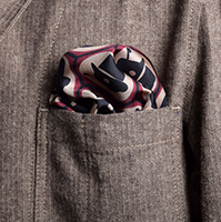 Chap Tile Pocket Square