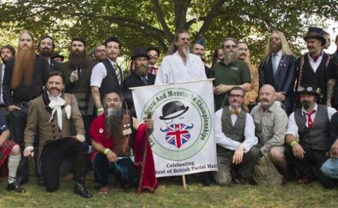 British Beard and Moustache Championships Brighton