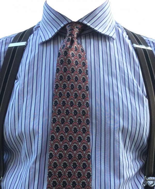 narrow necktie chap