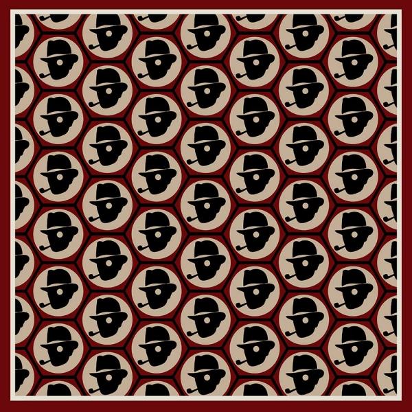 Chap Tile Pocket Square