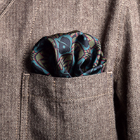 Deco Chap Pocket Square