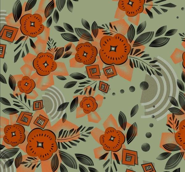 art-deco-floral-print