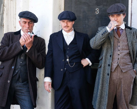 Peaky Blinders Chap Photoshoot