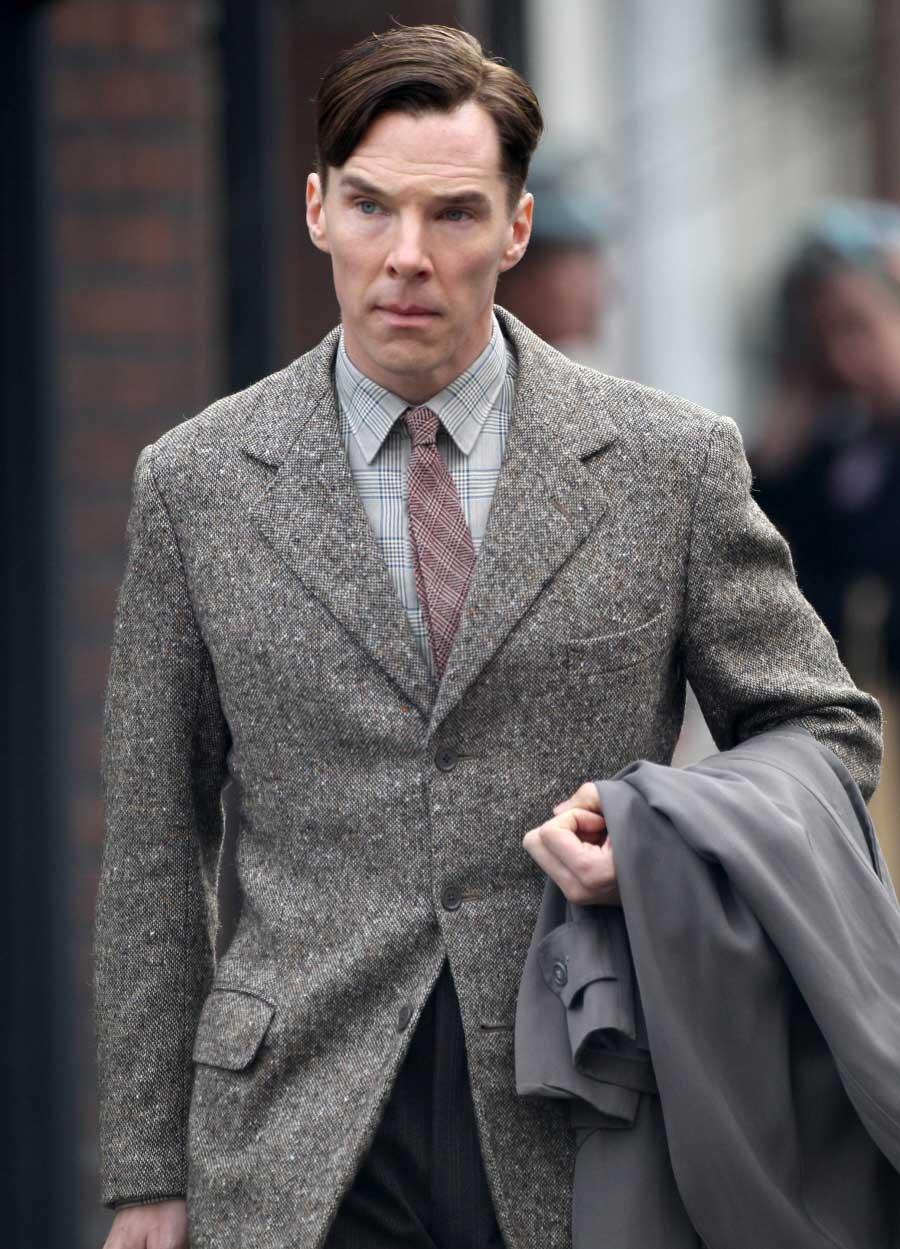 Benedict Cumberbatch Tweed