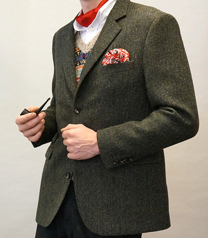 Chap Tweed Jacket