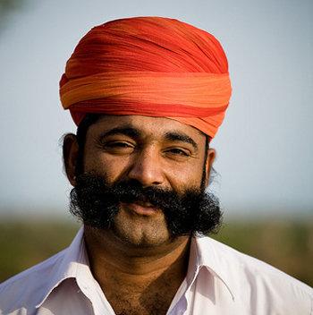 Indian Moustache