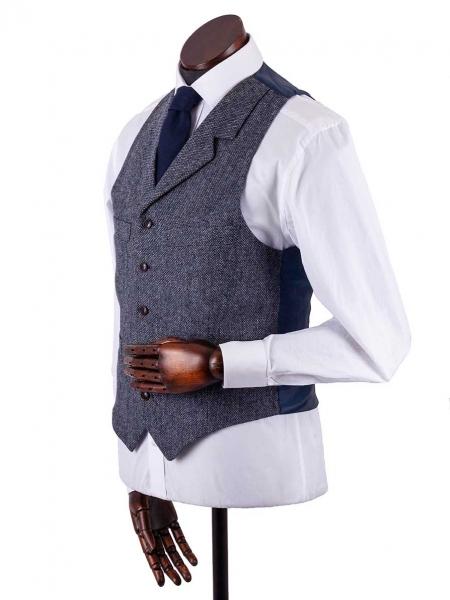 walker-slater-birdseye-waistcoat-blue