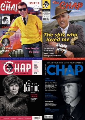 the chap back issues gentlemen's magazine retro style vintage fashion