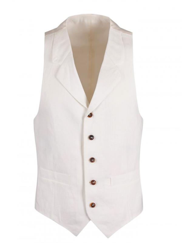 linen waistcoat